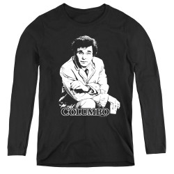 Image for Columbo Women's Long Sleeve T-Shirt - Title