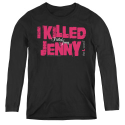 Image for The L Word Women's Long Sleeve T-Shirt - I Killed Jenny