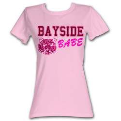 Image for Saved by the Bell Girls T-Shirt - Bayside Babe