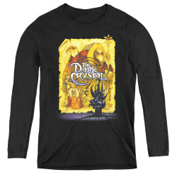 Image for The Dark Crystal Women's Long Sleeve T-Shirt Poster