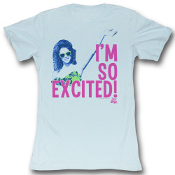 Image for Saved by the Bell Girls T-Shirt - I'm so Excited