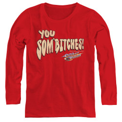 Image for Smokey and the Bandit Women's Long Sleeve T-Shirt - Sombitch