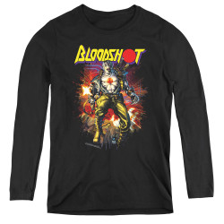 Image for Bloodshot Women's Long Sleeve T-Shirt - Vintage Bloodshot