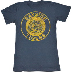 Image for Saved by the Bell Girls T-Shirt - Bayside Tigers
