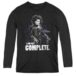 Image for Edward Scissorhands Women's Long Sleeve T-Shirt - Not Complete