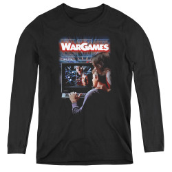 Image for Wargames Women's Long Sleeve T-Shirt - Poster