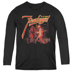 Image for ZZ Top Women's Long Sleeve T-Shirt - Fandango!