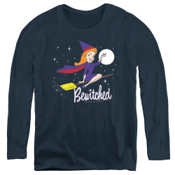 Image for Bewitched Women's Long Sleeve T-Shirt - New Moon