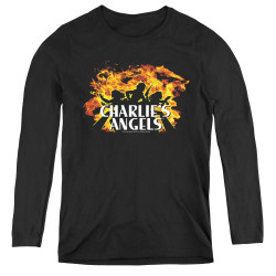 Image for Charlies Angels Women's Long Sleeve T-Shirt - Fire