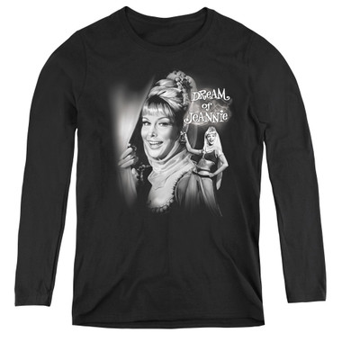 Image for I Dream of Jeannie Women's Long Sleeve T-Shirt - Lamp