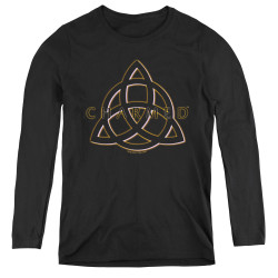 Image for Charmed Women's Long Sleeve T-Shirt - Triple Linked Logo