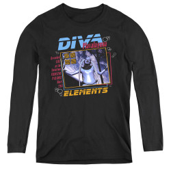 Image for The Fifth Element Women's Long Sleeve T-Shirt - Diva