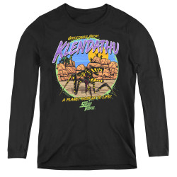 Image for Starship Troopers Women's Long Sleeve T-Shirt - Hostile Planet