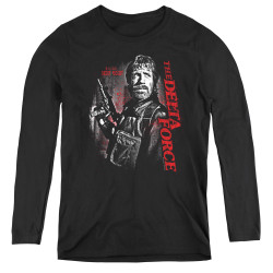 Image for Delta Force Women's Long Sleeve T-Shirt - Black Ops