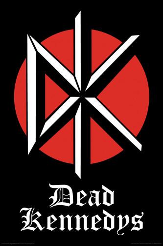 Dead Kennedys Poster Logo Nerdkungfu