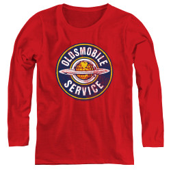 Image for Oldsmobile Women's Long Sleeve T-Shirt - Vintage Service