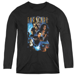 Image for Farscape Comic Cover Women's Long Sleeve T-Shirt