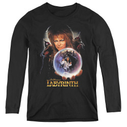 Image for Labyrinth Women's Long Sleeve T-Shirt - I Have a Gift