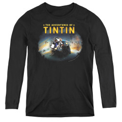 Image for The Adventures of Tintin Women's Long Sleeve T-Shirt - Journey