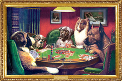 Image for Dogs Playing Poker Poster