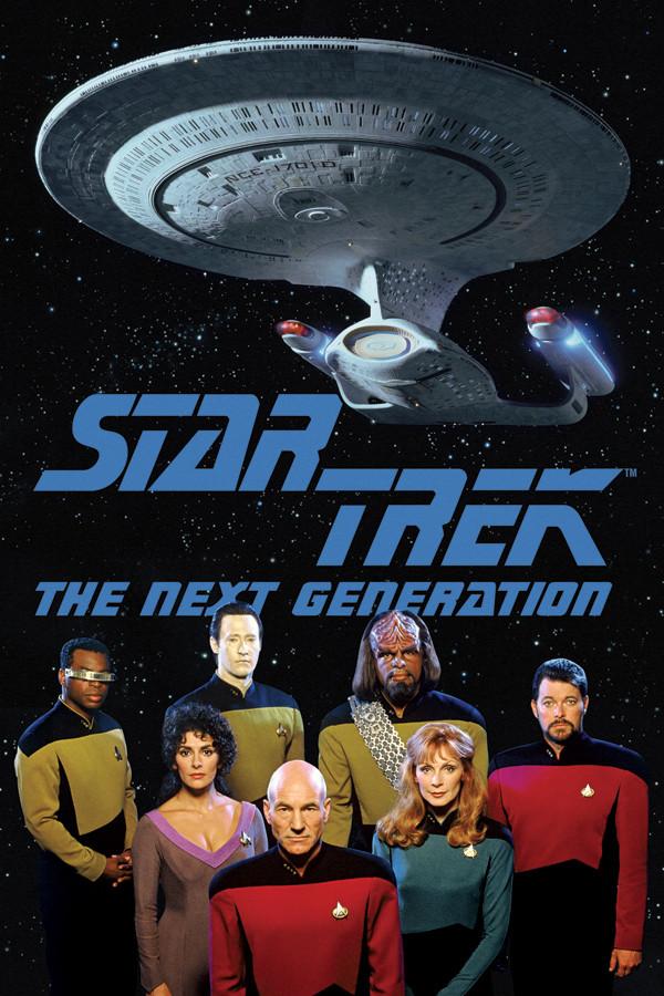 Image For Star Trek The Next Generation Cast Poster Loading Zoom