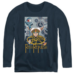 Image for Power Rangers Women's Long Sleeve T-Shirt - Rita Deco