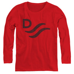 Image for John Wayne Women's Long Sleeve T-Shirt - Red River
