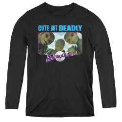 Image for Galaxy Quest Women's Long Sleeve T-Shirt - Cute but Deadly