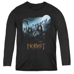 Image for The Hobbit Women's Long Sleeve T-Shirt - A Journey