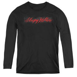 Image for Sleepy Hollow Women's Long Sleeve T-Shirt - Logo