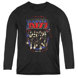 Image for Kiss Women's Long Sleeve T-Shirt - Destroyer
