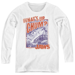 Image for Jaws Women's Long Sleeve T-Shirt - Chum