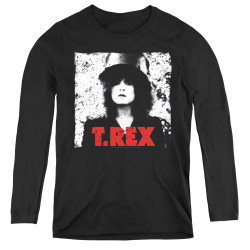 Image for T Rex Women's Long Sleeve T-Shirt - the Slider