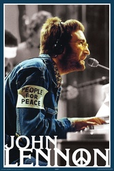 Image for John Lennon People for Peace Poster