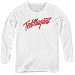 Image for Ted Nugent Women's Long Sleeve T-Shirt - Clean Logo