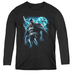 Image for Batman Women's Long Sleeve T-Shirt - Stormy Knight