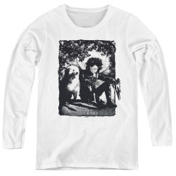 Image for Edward Scissorhands Women's Long Sleeve T-Shirt - Lucky Dog