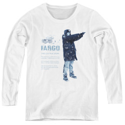 Image for Fargo Women's Long Sleeve T-Shirt - This Is A True Story