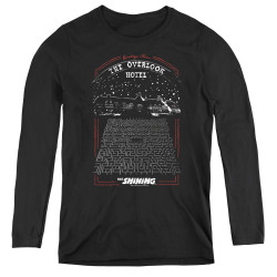 Image for The Shining Women's Long Sleeve T-Shirt - Overlook
