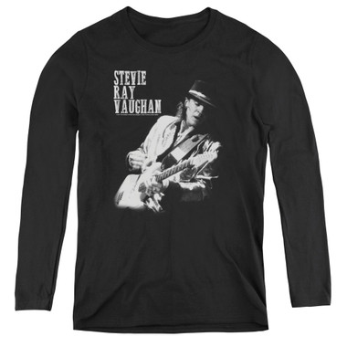 Image for Stevie Ray Vaughan Women's Long Sleeve T-Shirt - Live Alive