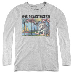 Image for Where the Wild Things Are Women's Long Sleeve T-Shirt - Cover Art