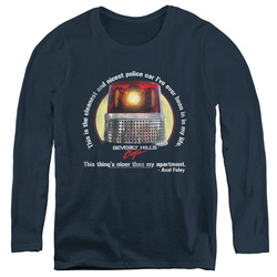 Image for Beverly Hills Cop Women's Long Sleeve T-Shirt - Nicest Police Car
