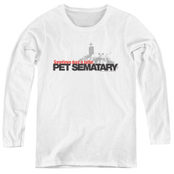Image for Pet Sematary Women's Long Sleeve T-Shirt - Logo