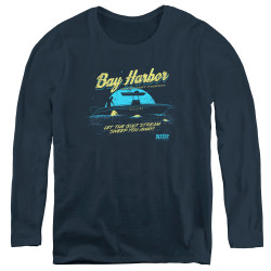 Image for Dexter Women's Long Sleeve T-Shirt - Moonlight Fishing