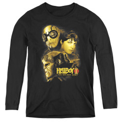 Image for Hellboy II Women's Long Sleeve T-Shirt - Ungodly Creatures