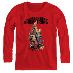 Image for Archer & Armstrong Women's Long Sleeve T-Shirt - Hang in There