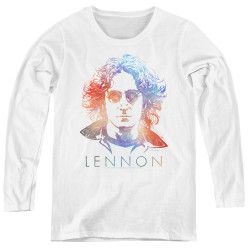Image for John Lennon Women's Long Sleeve T-Shirt - Colorful