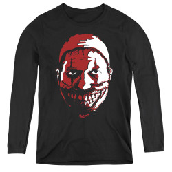 Image for American Horror Story Women's Long Sleeve T-Shirt - the Clown