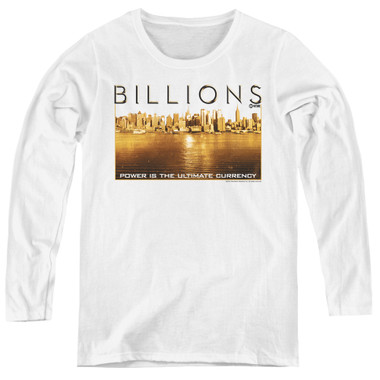 Image for Billions Women's Long Sleeve T-Shirt - Golden City