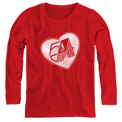 Image for Studio 54 Women's Long Sleeve T-Shirt - I Heart Studio 54